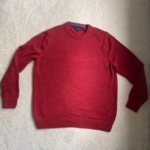Croft and barrow red sweatshirt
